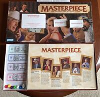 Vintage Masterpiece Board Game The Classic Art Auction Game by Parker Bros