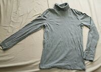 Manor Man Men's Grey Turtleneck Pullover Jumper Size S Small Good Used Condition