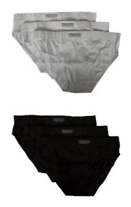 Pack of 3 bielastic cotton men's briefs NOTTINGHAM article SLI-3402 MEDIUM SIDE