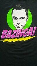 VINTAGE BAZINGA BIG BANG THEORY SHELDON T SHIRT..SIZE LARGE