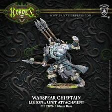 Hordes: Legion of Everblight Warspear Chieftain PIP73076 New