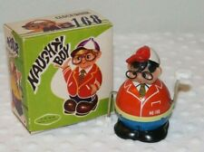 Vintage Tin RARE Toy ~Naughty Boy MS 168 Clockwork China~ Works! with Orig. Box!