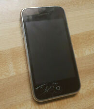 Apple iPhone 3GS - 8GB - Black (AT&T) A1303 (GSM) WORKS - cracked screen
