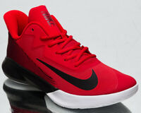 Nike Precision IV 4 Men's Red Black White Low Athletic Basketball Sneakers Shoes