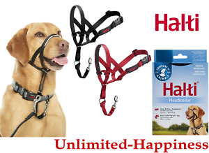 Halti Head Collar Dog Training Obedience Stop Pulling on Lead- All Size & Colors