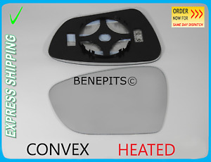 For KIA CEED 2012-2017 Wing Mirror Glass Convex HEATED Left Side /JK035
