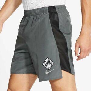 "Nike Challenger Wild Run 7"" Shorts (Grey) Running - S Small - Gym - CU6001-068"