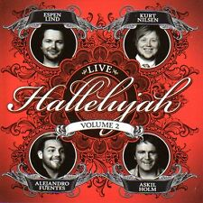 CD Kurt Nilsen, Espen Lind, A.Fuentes,Hallelujah 2 LIVE , Askil Holm, NEU