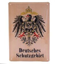 German Reserve - Retro Tin Sign - 20 x 30 cm