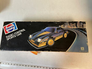 Pepsi Pontiac Firebird Trans-AM Radio Control Car RC In Box 1984 Nikko NIB