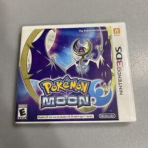 Pokemon Moon (Nintendo 3DS) Original Case & Artwork Only NO GAME