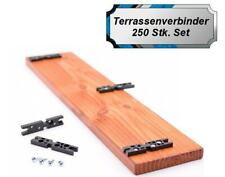 """""""Easy-Use"""" Terrassen-Verbinder, unsichtbare Befestigung, Terrassen Befestigu SET"""
