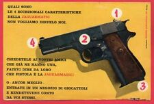 Paginetta pubblicitaria Advertising Werbung 1966 EDISON GIOCATTOLI JAGUARMATIC