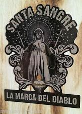 """De la muerte Oldschool Adesivo """"Santa al"""" HOT e Consiglio Rod Sticker MADONNA"""