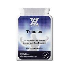 95% NON STEROIDAL SAPONINS TRIBULUS TERRESTRIS TESTOSTERONE- 90 V caps  Anabolic