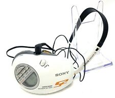 Sony SRF-M85V S2 Sports Walkman Armband Radio- Water Resistant - WHITE