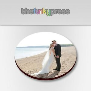 Personalised Printed Photo Coaster, Printed with your Picture Add Text For Free