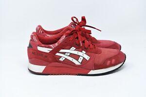 ASICS Gel Lyte III 'Red Bandana' H424N  Size 11