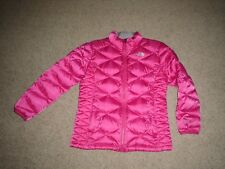 The North Face Girl's 550 Pink Goose Down Jacket Size XL (18)Excellent Condition