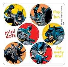 "180 Mini Batman Stickers, Each 7/8"" Round"