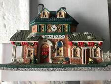 Town Station -  Ceramics/Porcelain House Has A Few Chips