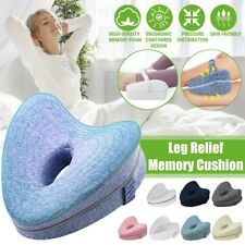 Memory Foam Leg Pillow Cushion Pad Relieve Knees Pain Foot Relax Washable