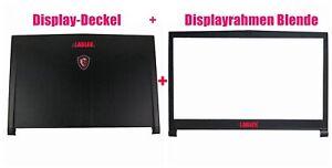 Display-Deckel&Displayrahmen Blende für MSI GS73 6RF/GS73VR 6RF/GS73VR 7RF