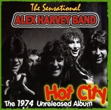 ALEX BAND HARVEY - HOT CITY  CD NEUF