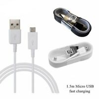 Official Samsung Galaxy S7 S6 S5 S4 Note 4 5 USB 1.5m Fast Charging Cable Lead