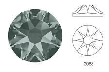 10x Swarovski® Crystals Flatback black diamond 2088 NoHF SS34 7mm Xirius Strass