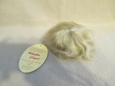 "AUCTION FOR 8"" - 9"" NEW KEMPER BLONDE MOHAIR DOLL WIG OOAK REBORN BABY SUPPLIES"