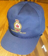 VINTAGE ROYAL CANADIAN LEGION BRANCH #227 HAT VERY GOOD CONDITION