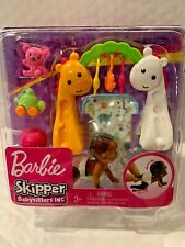 BARBIE SKIPPER BABYSITTER INC. CRAWLING AND PLAYTIME BABY PLAYSET HARD TO FIND
