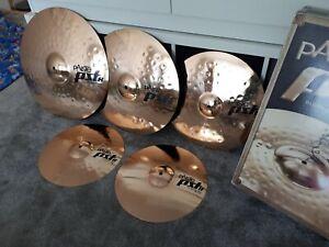 """Paiste Pst 8 Cymbals Set ! 14"""",16"""",18"""",20"""" Excellent Condition  ! RRP£412.00"""