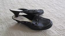 39d99d5dfd93 Ladies Black St. Johns Bay Soft Leather Uppers