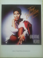 Toni Braxton: Breathe Again (Piano/Vocal/Guitar Sheet Music) OUT OF PRINT, MINT!