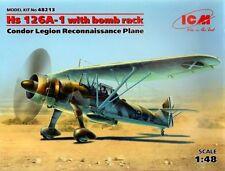 ICM 1/48 Henschel Hs 126A-1 with Bomb Rack # 48213