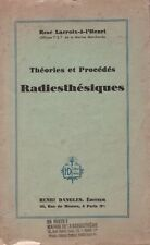 Lacroix-to-the henri rené-theories and methods radiestheiques - 1942