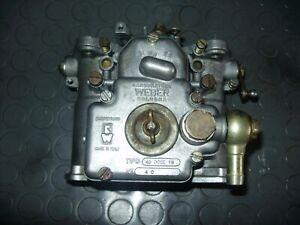 weber 40 DCOE 18 bmw 2002 1602 original italy 1 piece