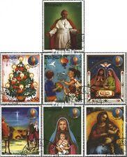 Paraguay 3726-3732 (kompl.Ausg.) gestempelt 1984 Weihnachten 1983