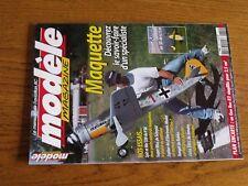 $$$ Revue Modele Magazine N°629 Plan encarte Gee BeeSpit et Me 109Ranger