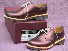 New in Box Dr Marten 1461 Metallic Cherry Red  Oxford UK 5 Made in England