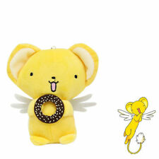 Card Captor Sakura Kero Keroberos With Cookies Plush Keychain Stuffed Doll Toy
