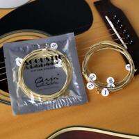 Cuerdas De Guitarra Acustica 6 Unidades Muy RESISTENTES Y De GRAN CALIDAD new