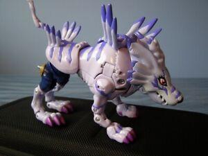 Digivolving WereGarurumon Digimon Bandai 1999 Complete