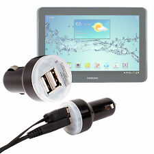 Car Charger For Samsung Galaxy Tab 2 P3110 WIFI With 2 AMP Dual USB Port 12/24V