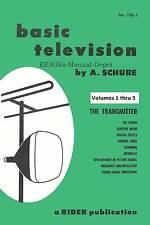 Basic Television Volumes 1 thru 5 * 1958 * CDROM * PDF * Rider Publication