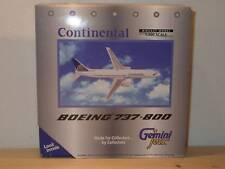 Gemini Jets B737-800 CONTINENTAL - 1/400