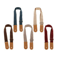 Ukulele Strap Belt with PU Leather Ends for Guitar Players Music Lovers Gift