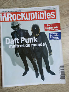 Les Inrockuptibles spécial Daft Punk Collector - mai 2013